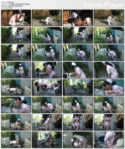 Japanese Exhibitionism and public outdoor sex 24
