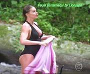 Paula Burlamaqui sensual na novela A Favorita