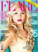 Elisha Cuthbert in Flare Magazine - July 2011
