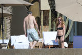 Cat Deeley | Bikini Candids poolside in Mexico | January 10 | 18 pics
