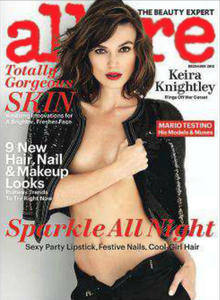 Keira Knightley - Allure December 2012
