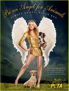 Yvonne Strahovski PETA Poster