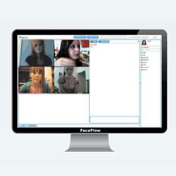Video Chat Online con faceflow.com