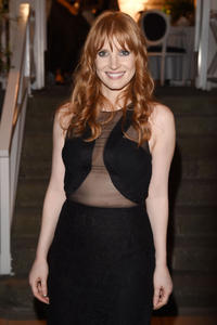 Jessica Chastain Day 2 of the Ischia Global Film & Music Festival in Italy 07-13-2013 (seethrough)