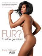 Taraji P. Henson - Peta Ad